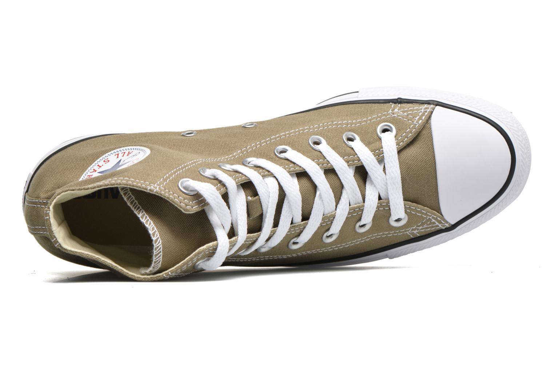 Sneaker Converse Chuck Taylor All Star Hi M grün ansicht von links