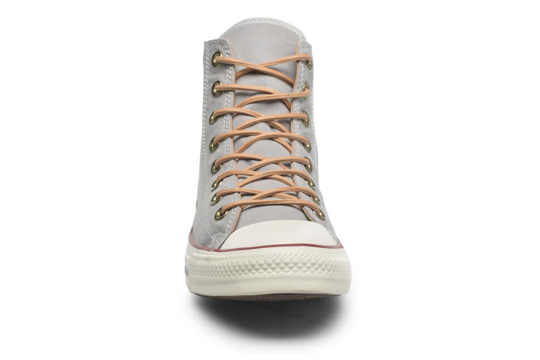 Baskets Converse Chuck Taylor All Star Hi M Gris vue portées chaussures