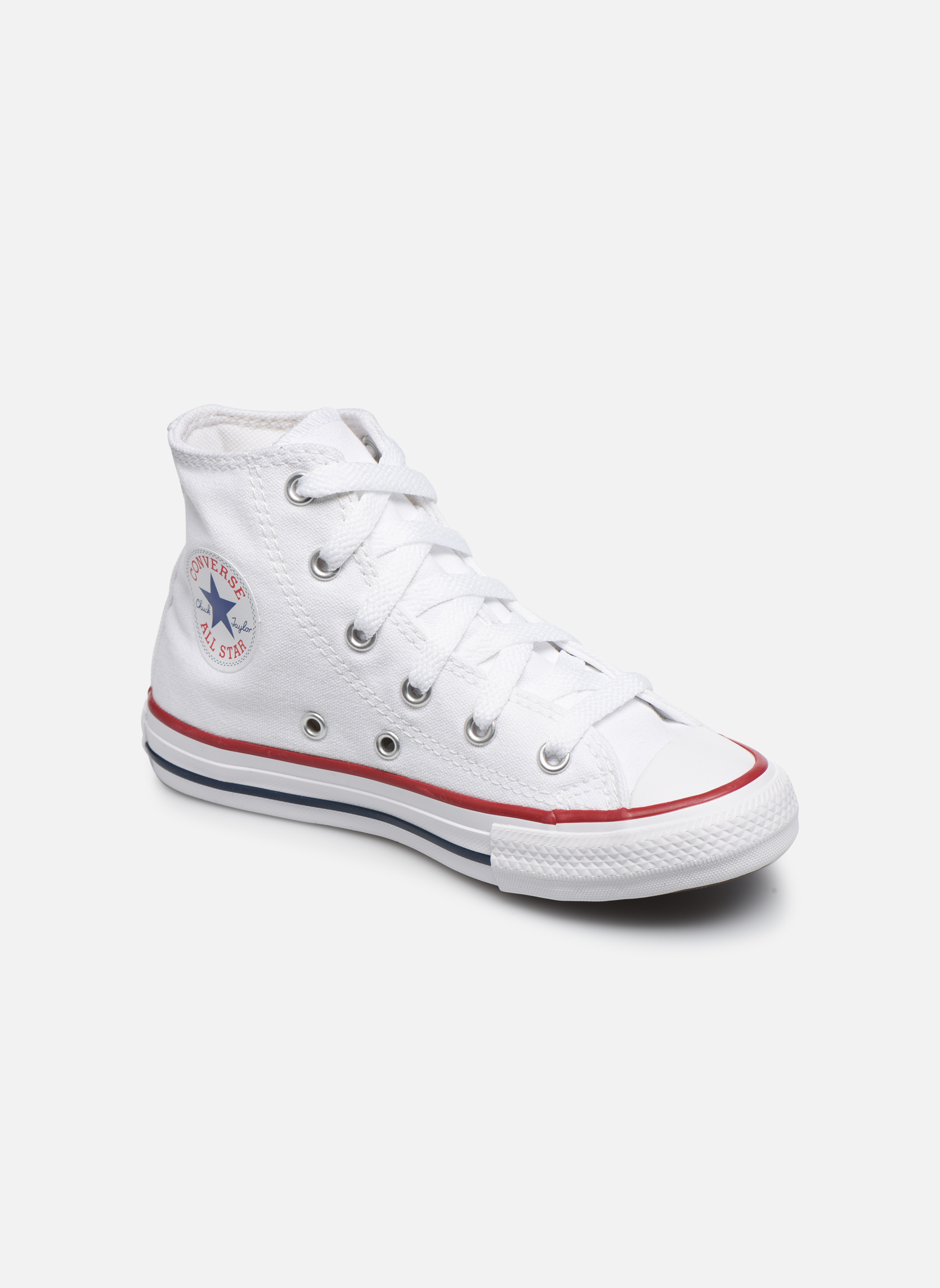 Baskets Converse Chuck Taylor All Star Core Hi Blanc vue détail/paire