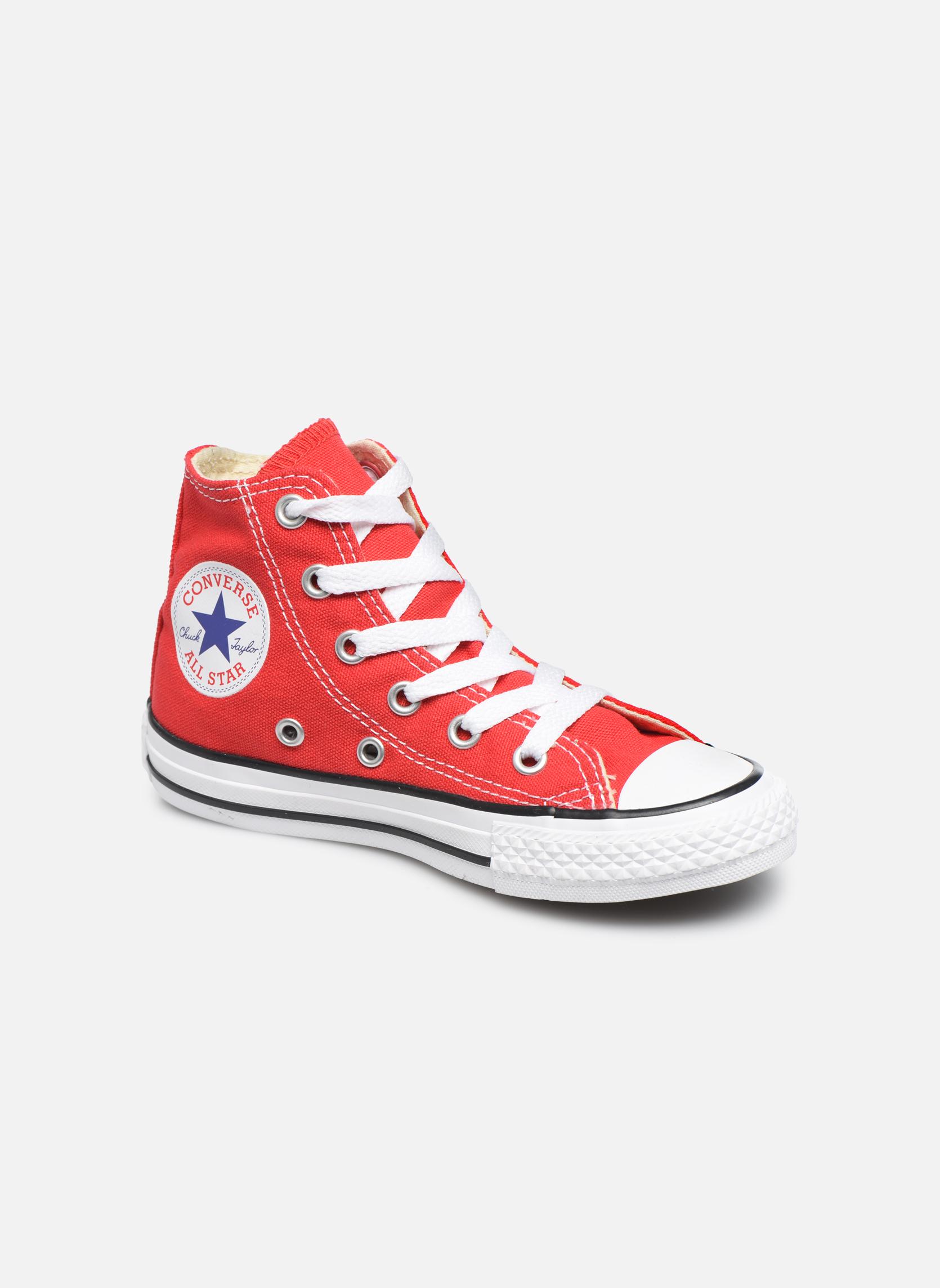 Sneakers Converse Chuck Taylor All Star Core Hi Rosso vedi dettaglio/paio