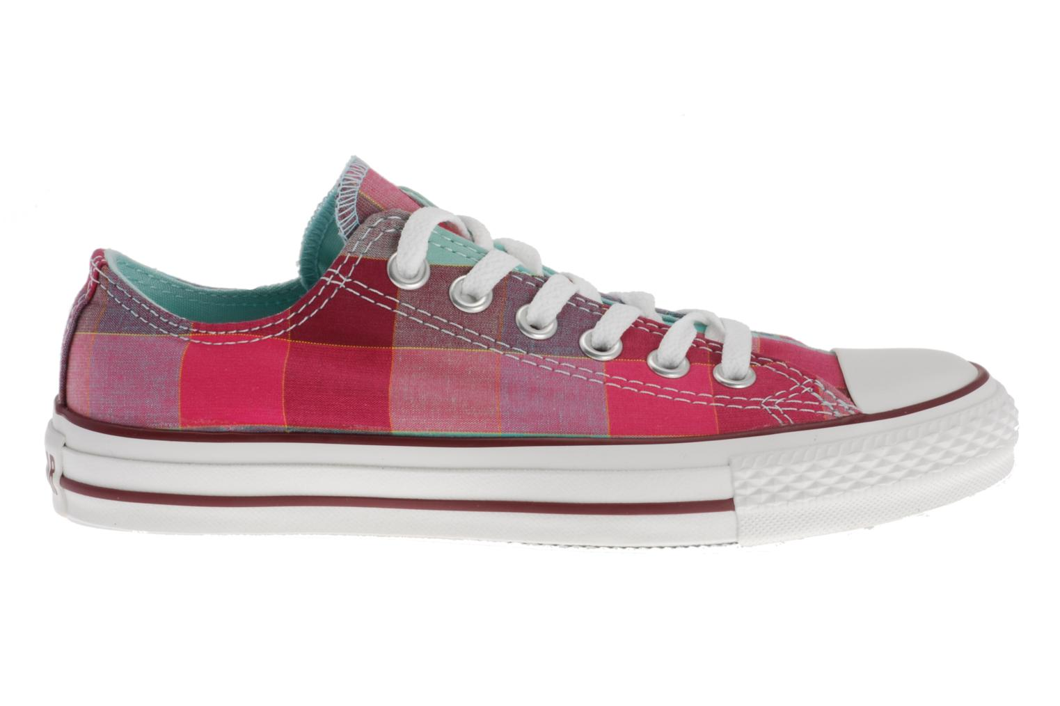 Sneakers Converse Chuck Taylor All Star Big Plaid Ox W Multicolor achterkant