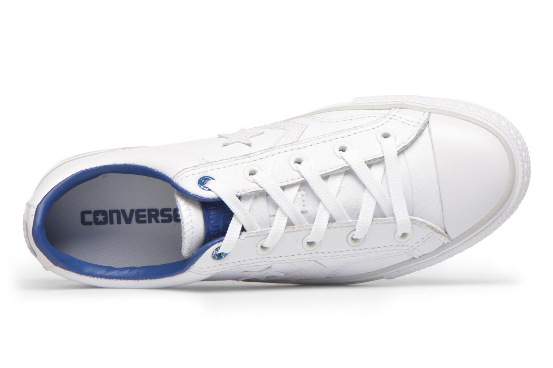 Baskets Converse Star Player Cuir Ev W Blanc vue gauche