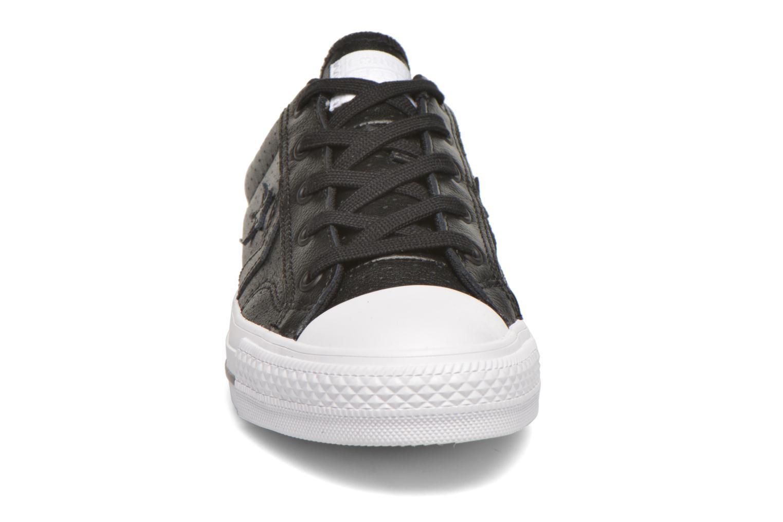 Sneaker Converse Star Player Cuir Ev W schwarz schuhe getragen