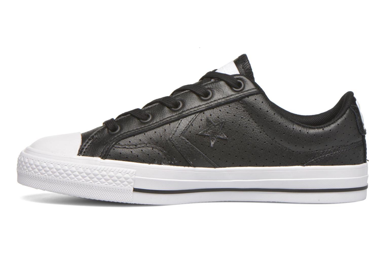 Sneaker Converse Star Player Cuir Ev W schwarz ansicht von vorne
