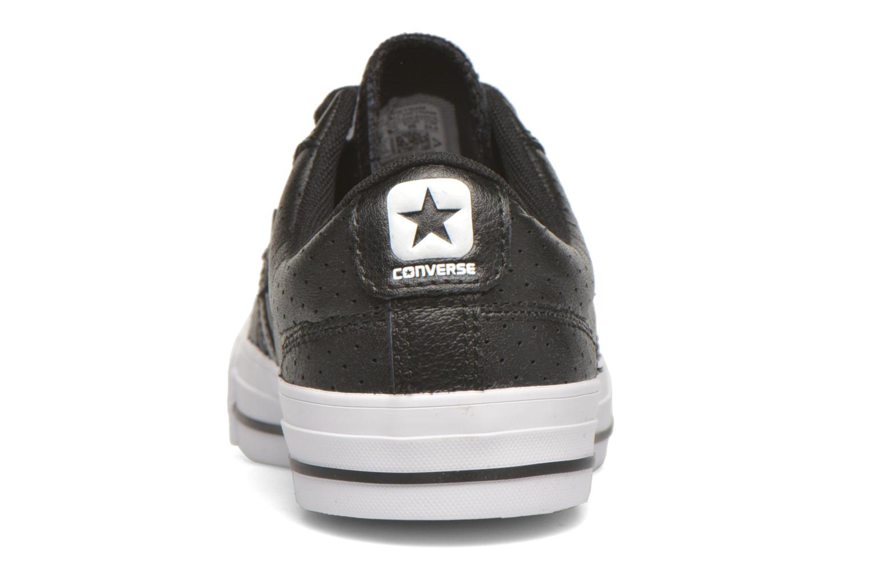 Sneaker Converse Star Player Cuir Ev W schwarz ansicht von rechts