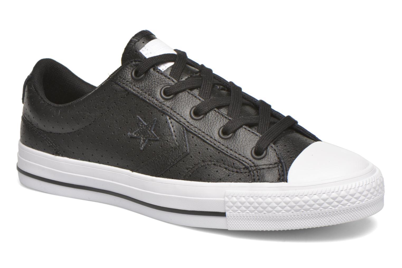 Sneakers Converse Star Player Cuir Ev W Zwart detail