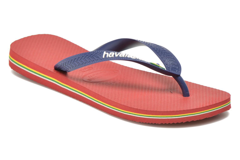 Slippers Havaianas Brazil Logo H Bordeaux detail