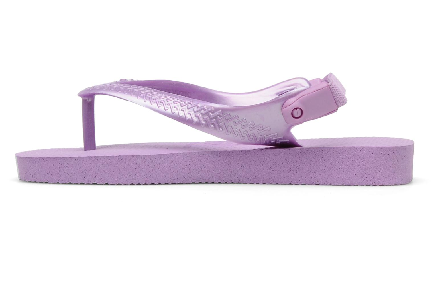 Tongs Havaianas TOP BABY Violet vue face