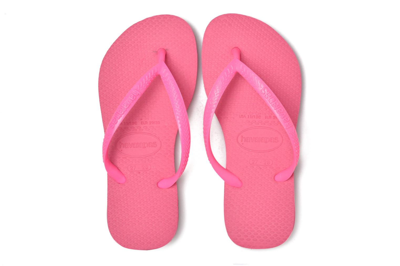Tongs Havaianas Kids Slim Rose vue 3/4