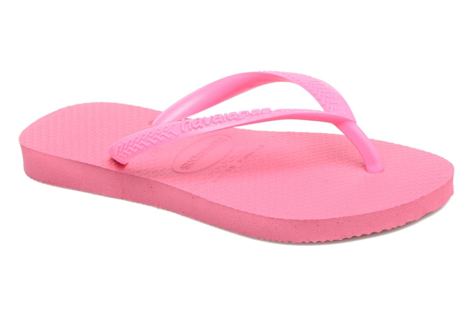 Flip flops Havaianas Kids Slim Pink detailed view/ Pair view