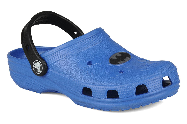 Sandals Crocs Batman Cayman Blue detailed view/ Pair view