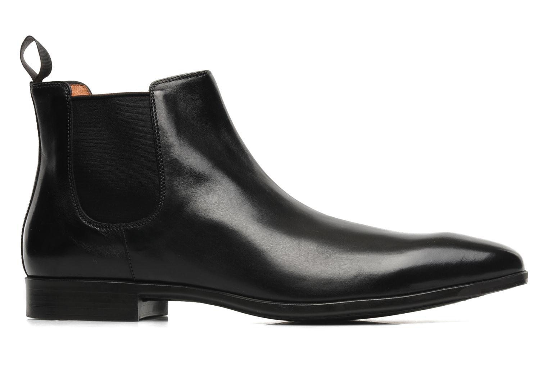 Stiefeletten & Boots Santoni Marlone 9291 schwarz ansicht von hinten