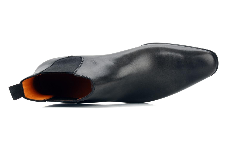 Stiefeletten & Boots Santoni Marlone 9291 grau ansicht von links
