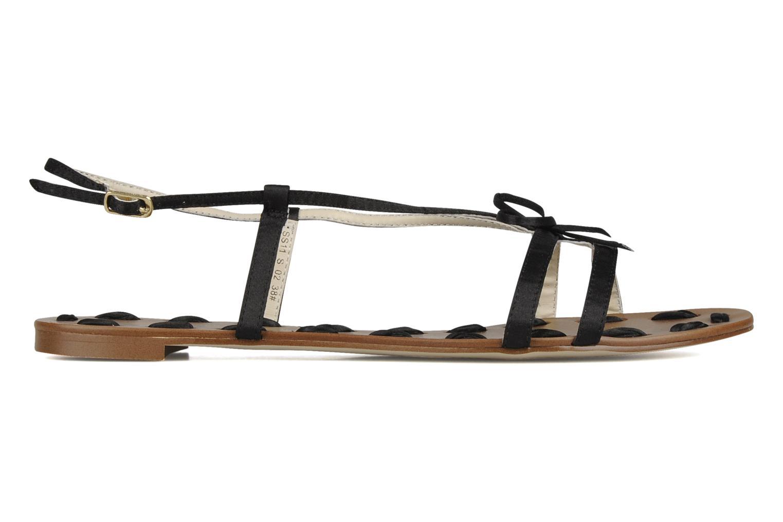 Sandalen Chocolate Schubar Schu-Schu schwarz ansicht von hinten