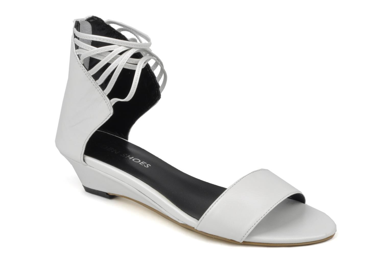 Sandales et nu-pieds Eden Evangelina Blanc vue détail/paire