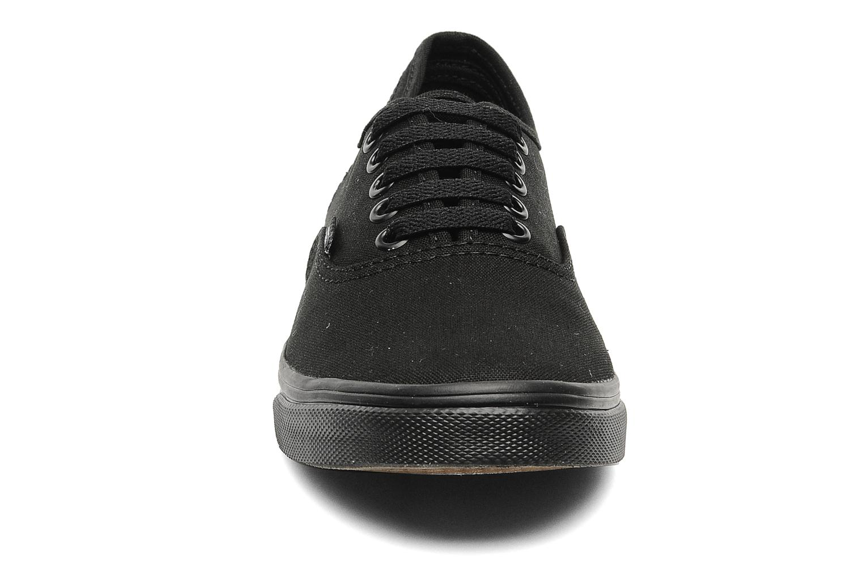 Sneaker Vans Authentic Lo Pro W schwarz schuhe getragen