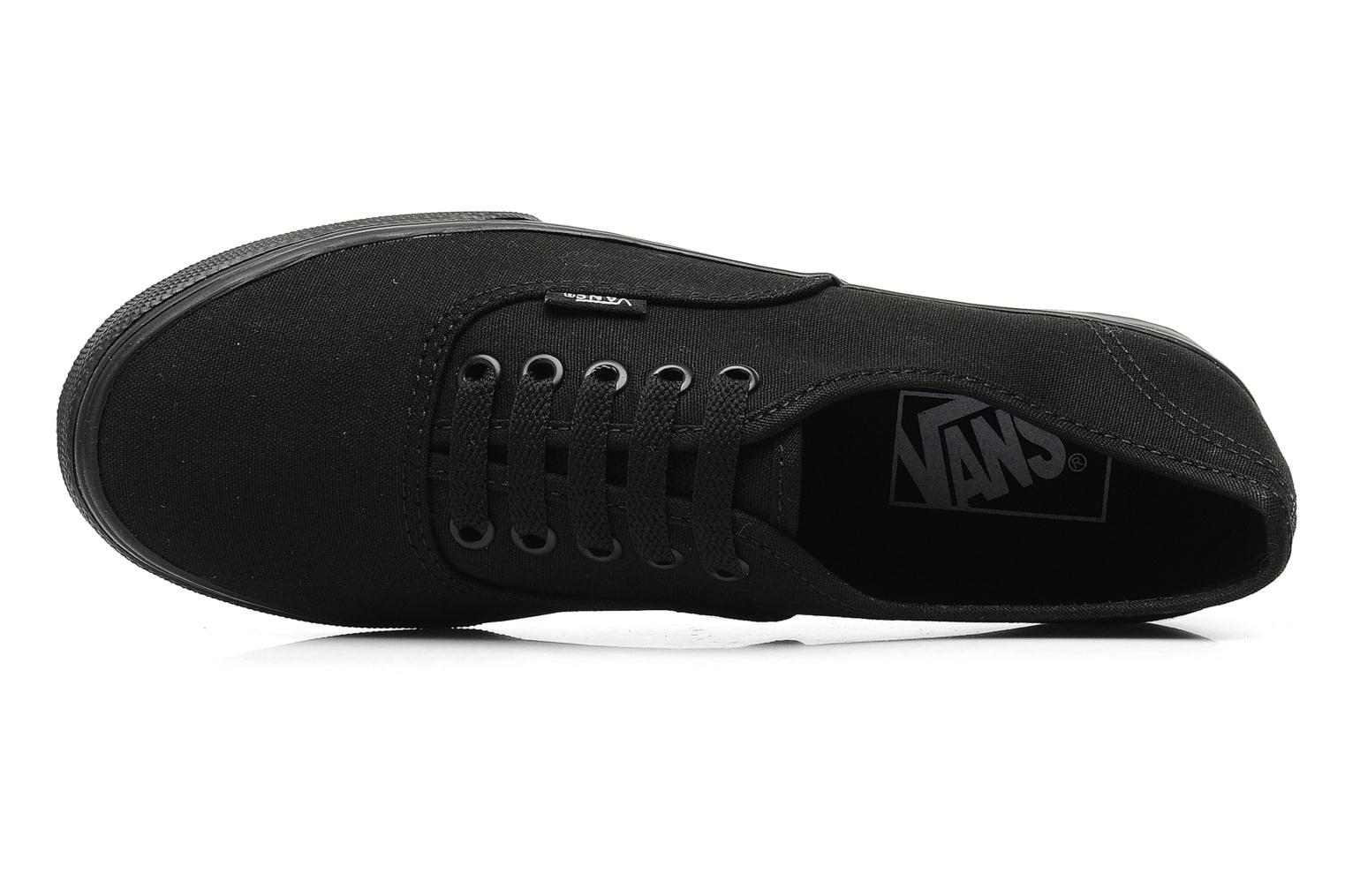 Trainers Vans Authentic Lo Pro W Black view from the left