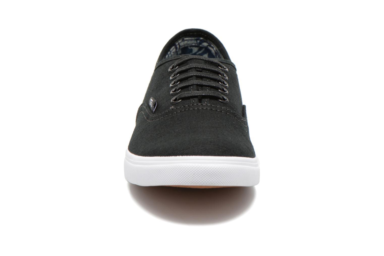 Baskets Vans Authentic Lo Pro W Noir vue portées chaussures