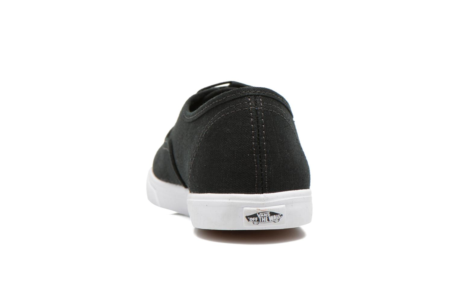 Trainers Vans Authentic Lo Pro W Black view from the right