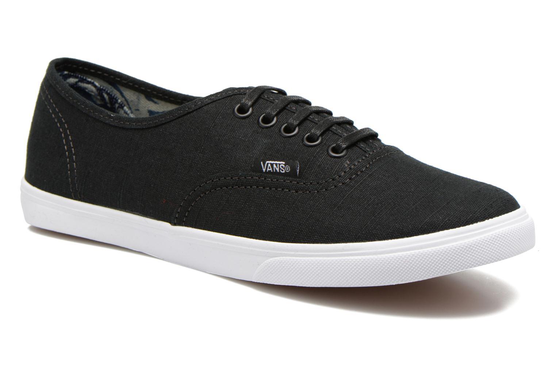 Sneakers Vans Authentic Lo Pro W Zwart detail