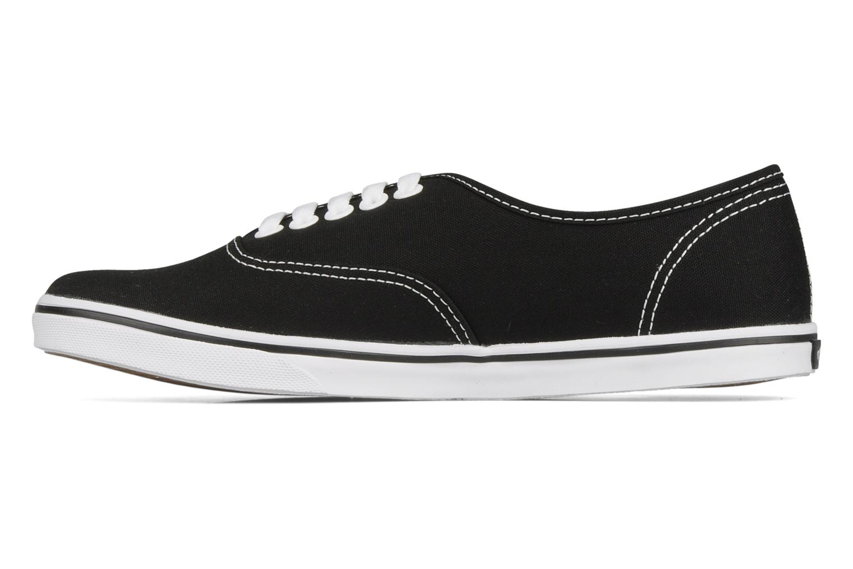 Sneaker Vans Authentic Lo Pro W schwarz ansicht von vorne
