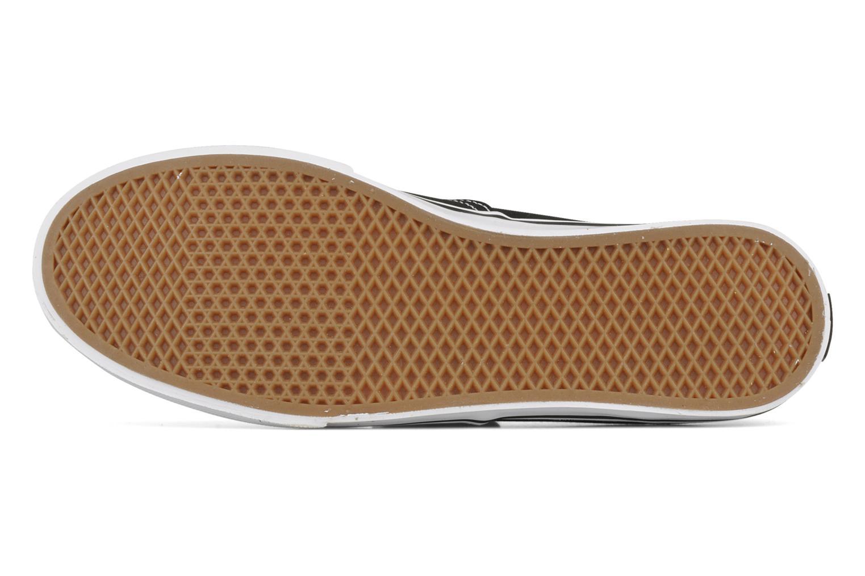 Sneaker Vans Authentic Lo Pro W schwarz ansicht von oben