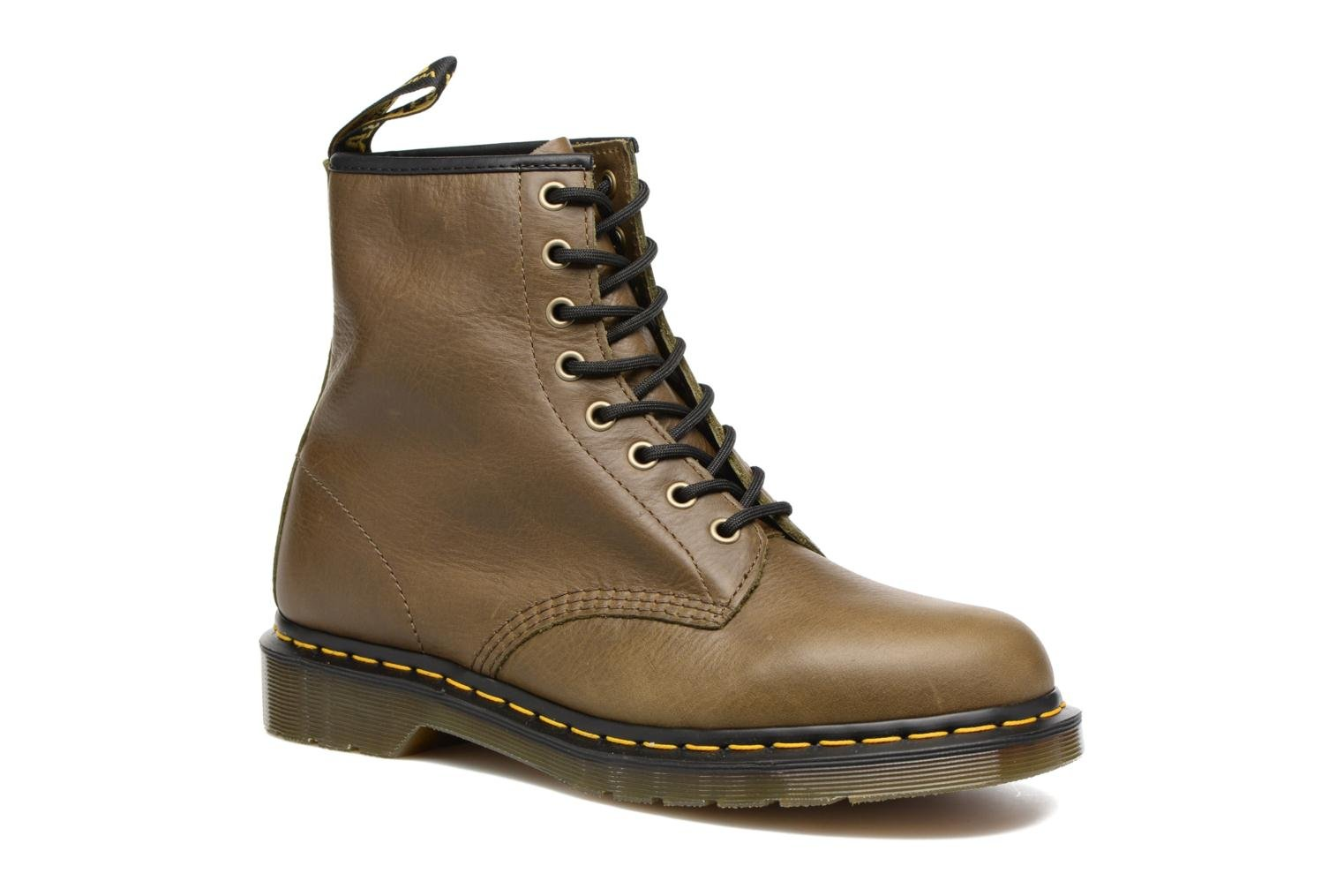 Ankle boots DR. Martens 1460 M Brown detailed view/ Pair view