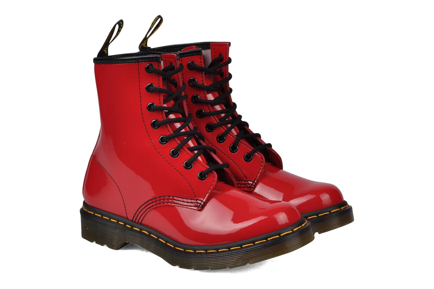 Ankle boots DR. Martens 1460 W Red 3/4 view