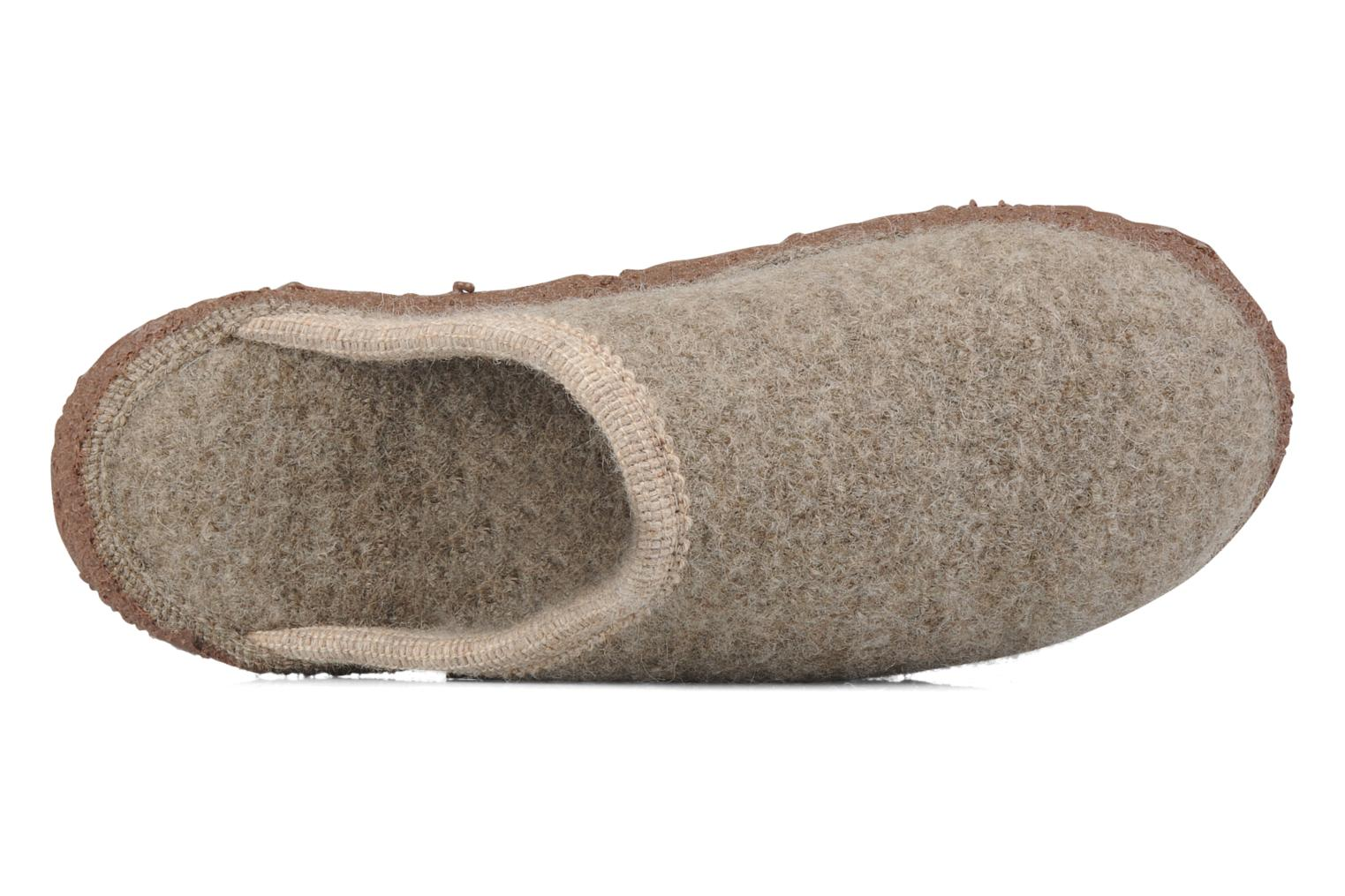 Slippers Giesswein Tino W Beige view from the left