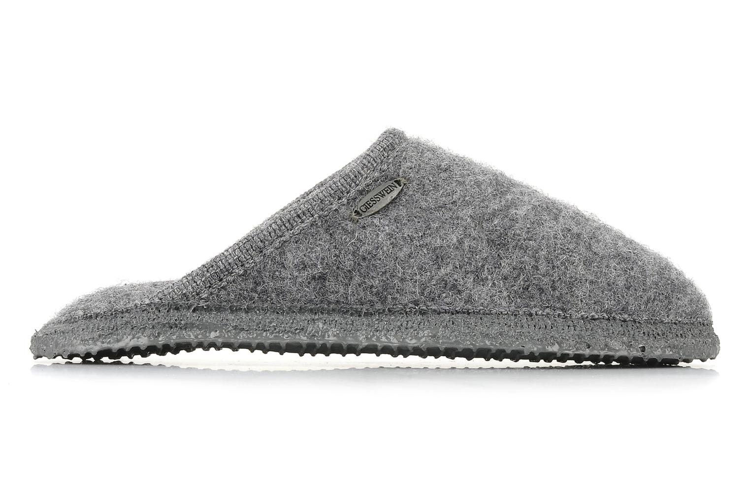 Slippers Giesswein Tino W Grey back view