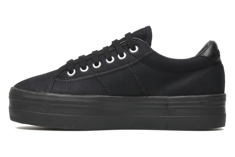 Sneakers No Name Plato Sneaker Zwart voorkant