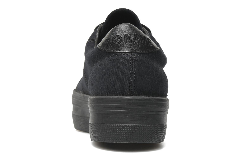 Sneakers No Name Plato Sneaker Zwart rechts