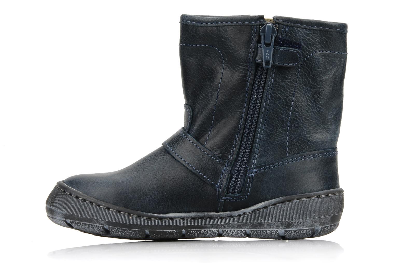 Boots en enkellaarsjes Palladium Botto Blauw voorkant