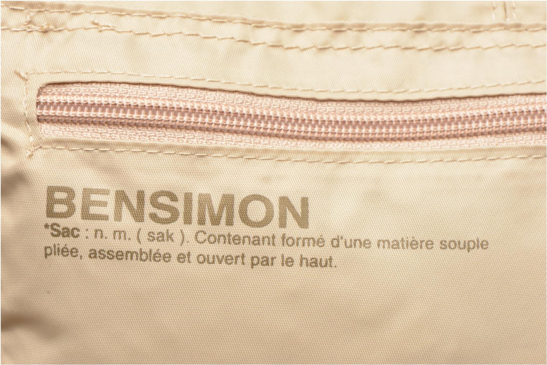 Sacs de sport Bensimon Shoulder Bag Beige vue gauche