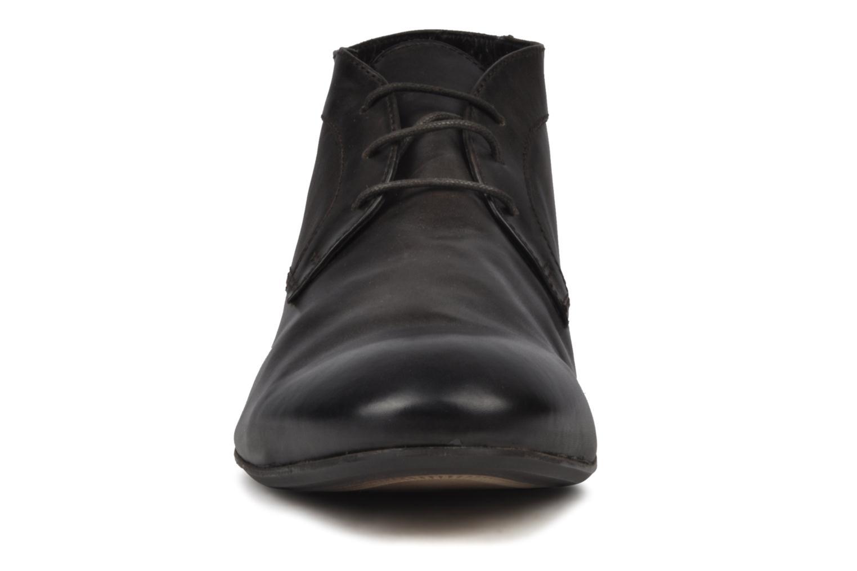 Chaussures à lacets H By Hudson Thursom Marron vue portées chaussures