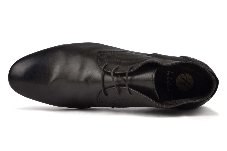 Chaussures à lacets H By Hudson Thursom Marron vue gauche