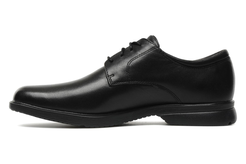 Lace-up shoes Rockport Allander Black front view