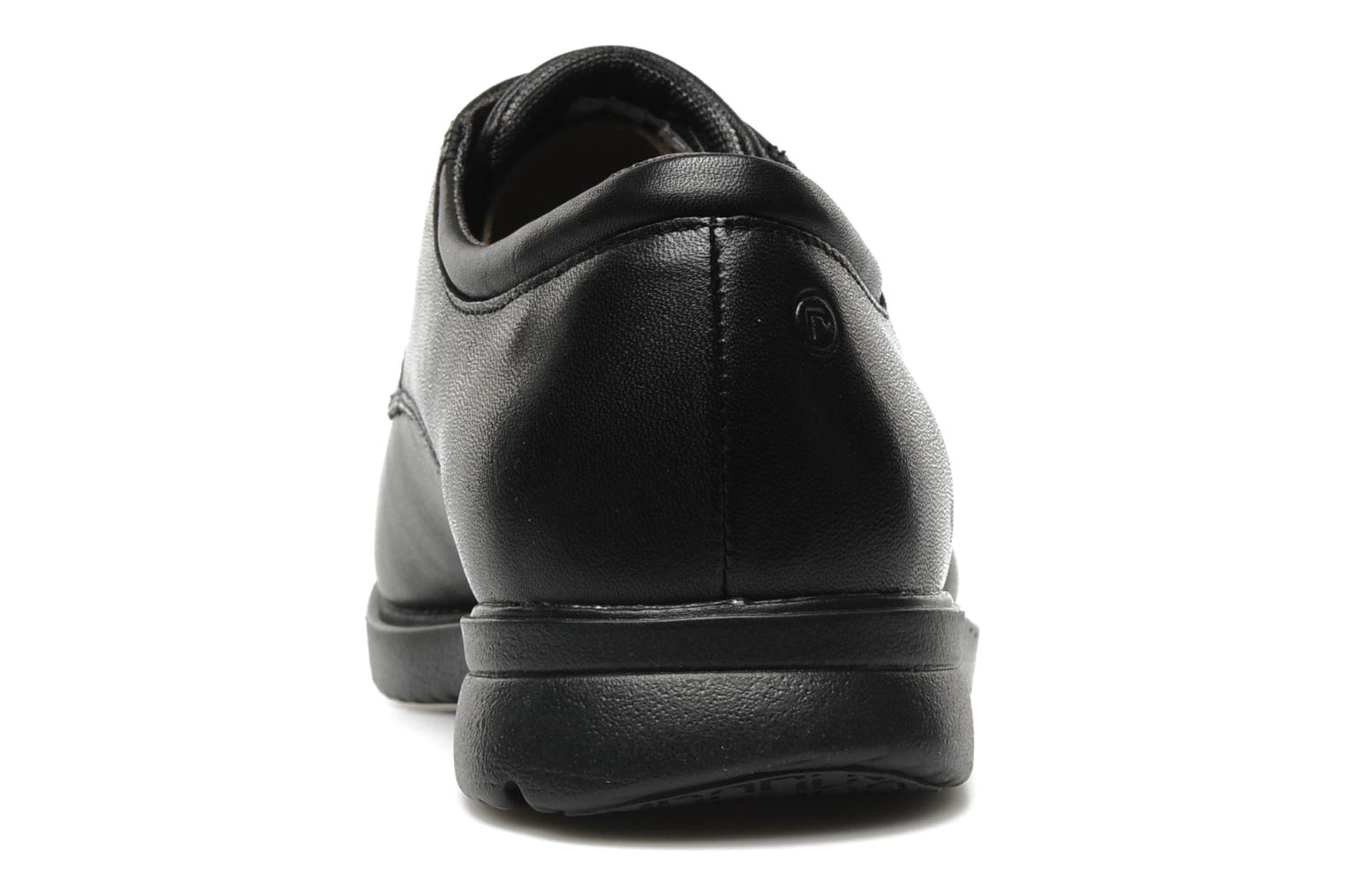 Lace-up shoes Rockport Allander Black view from the right