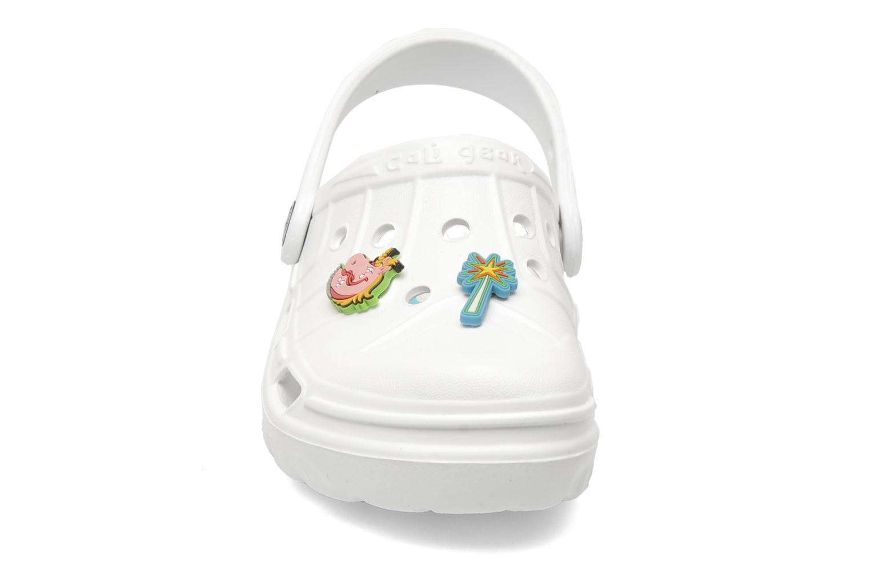 Sandales et nu-pieds Skechers Cali Gear Whirlies E Blanc vue portées chaussures