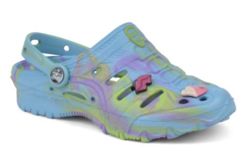 Sandales et nu-pieds Skechers Cali Gear Honey Bleu vue détail/paire