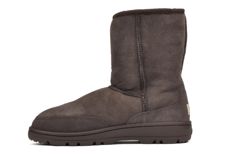 Boots en enkellaarsjes UGG Ultra Short Bruin voorkant