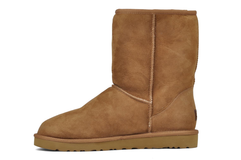 Boots en enkellaarsjes UGG Classic Short M Beige voorkant
