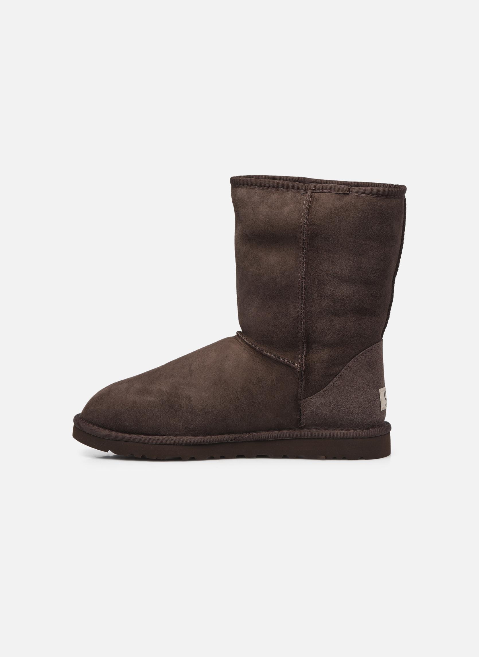 Bottines et boots UGG Classic Short M Marron vue face