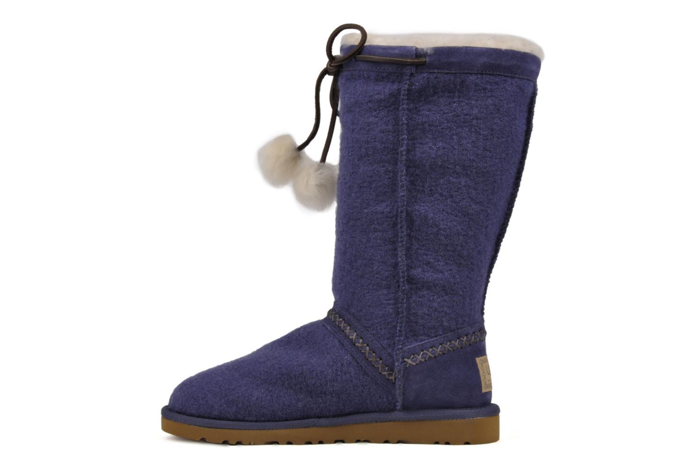 Boots en enkellaarsjes UGG Classic Tall Wool Blauw voorkant