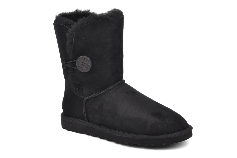 Stiefeletten & Boots UGG Bailey Button schwarz detaillierte ansicht/modell