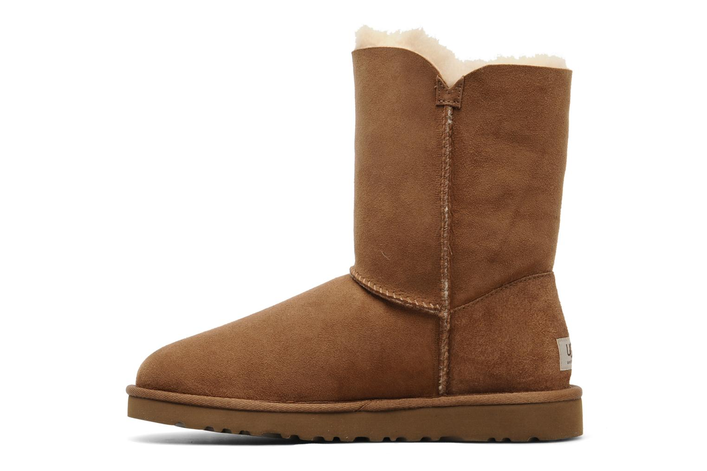Stiefeletten & Boots UGG Bailey Button braun ansicht von vorne