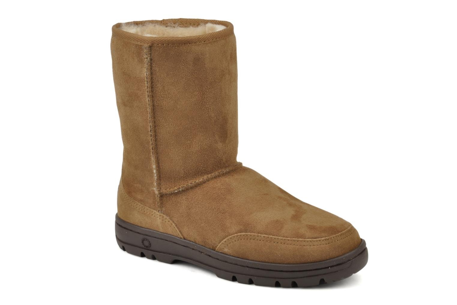 Bottines et boots UGG Ultra Short W Marron vue détail/paire