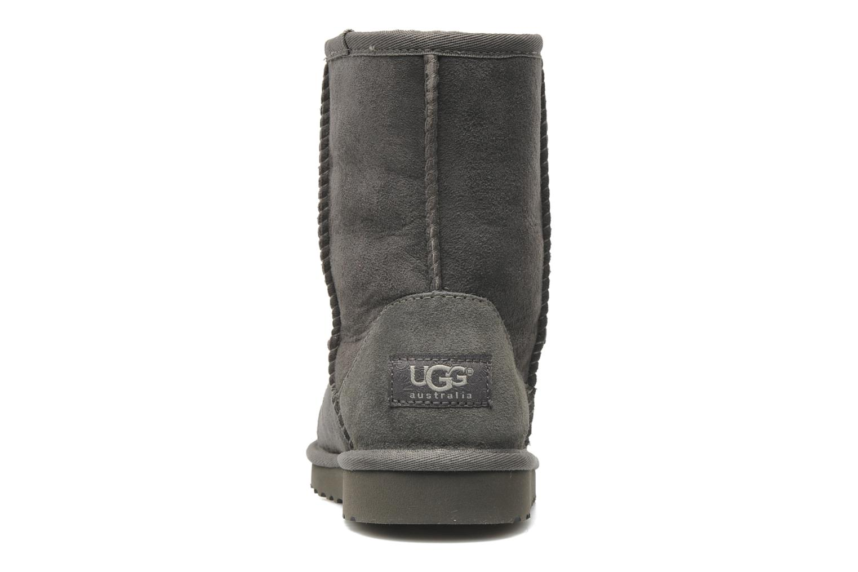 Stiefel UGG Kid's Classic grau ansicht von rechts