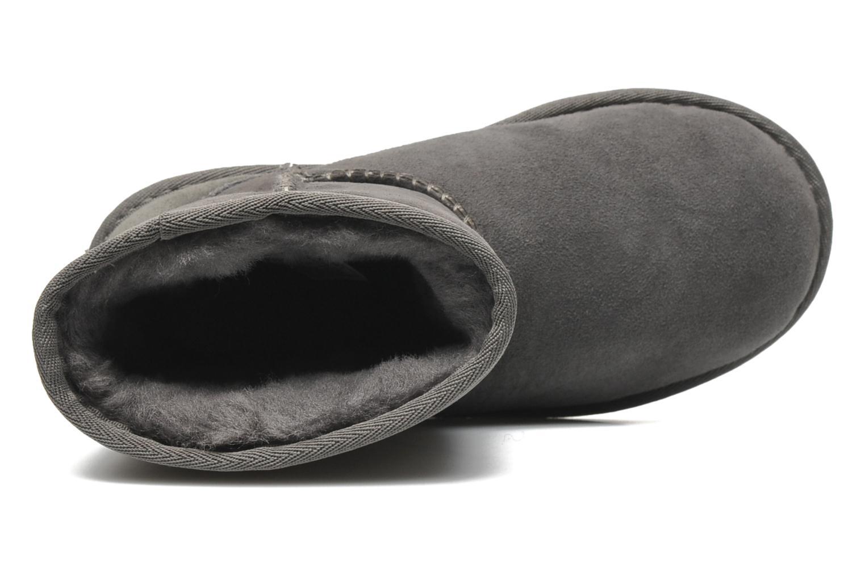 Stiefel UGG Kid's Classic grau ansicht von links