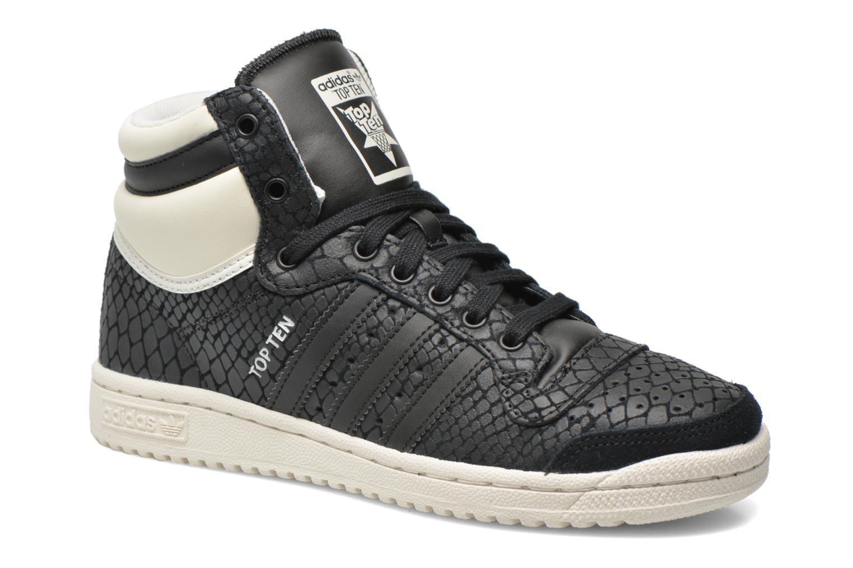 Baskets Adidas Originals Top Ten Hi W Noir vue détail/paire
